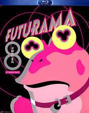 Futurama, Vol. 8 (Blu-ray Disc, 2013, 2-Disc Set) Brand New!!
