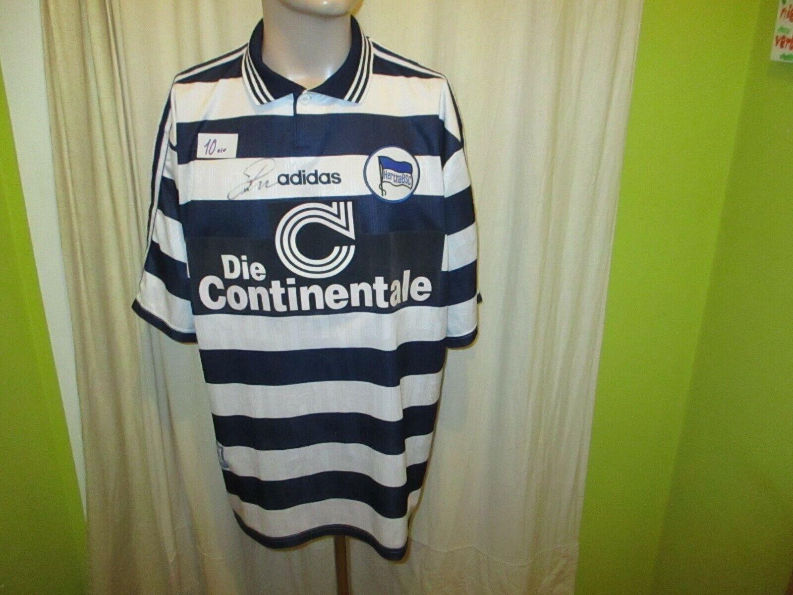 Hertha BSC Berlin Original Adidas Heim Trikot 1997 98  Die Continentale  Gr.XL