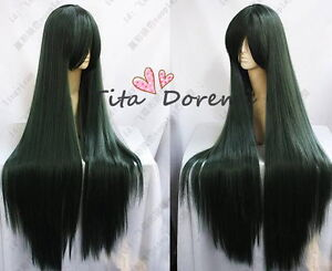 Halloween-Wig-Hair-Cosplay-Costume-Sailor-Moon-Sailor-Pluto-Green-long-Woman