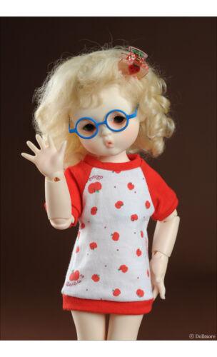 Blue Dollmore 1//6 BJD Glasses USD Size Round Steel Lensless Frames