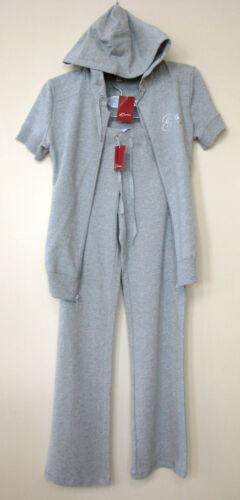 Taille shirt Sweat Logo M Neuf Guess Cristal Pantalon Gris Set M wqX486
