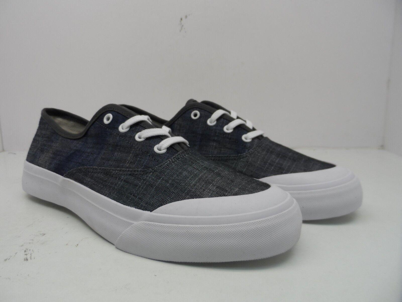 HUF Men's Cromer Low Dip Cut Canvas Skate Shoe Dip Low Dye Navy Size 8M fe69cd
