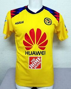 Club America Men s Home 2018 Soccer Jersey Made in Mexico  602b1c310498