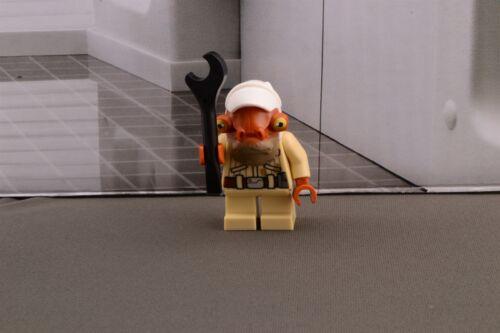 Lego Mini Figure Star Wars Quarrie from Set 75186