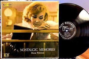 B-Kessel-H-Ellis-O-Peterson-Nostalgic-Memories-Clef-MG-C-695-1956-VG
