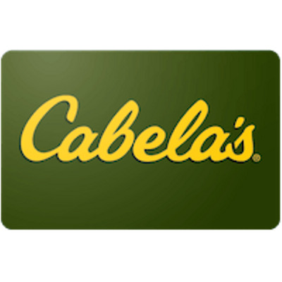 Cabela's $100 Gift Card for Only $92! Free Shipping, Pre-Owned Paper Card