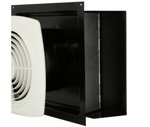 Through-The-Wall Exhaust Fan Bathroom Laundry Kitchen Smokers Vent 6.5 Sones
