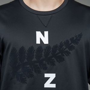 Details about Adidas Mens New Zealand NZ All Black Rugby Crew Neck Jumper Sweater 2018 19
