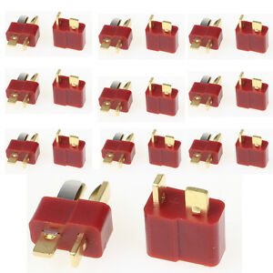 5 Pairs T Plug Male /& Female Deans Connectors Style For RC LiPo Battery M1 Asi