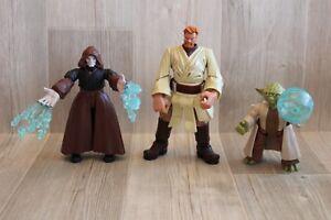 Lot 3 Figurines Personnages Articulés Star Wars (11, 15 Et 18 Cm) Kff2lmzq-07170714-696674354