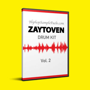 Details about Zaytoven DRUM KIT Vol  2 Hip Hop SAMPLE PACK TRAP 808 Wav FL  Studio, Ableton