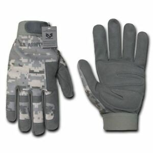 ACU-Universal-Digital-Grey-Camo-Camouflage-US-Army-Tactical-Hunting-Gloves-Glove