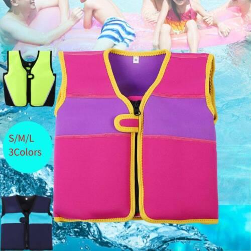 Kids Swim Float Suit Swimming Pool Safe Aid Life 1-6 Vest Jacket Inflatable UK