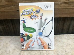 Game Party 3 (Nintendo Wii, 2009) - NO MANUAL Disc, Case - Tested Works #2