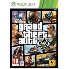 Grand Theft Auto V 5 GTA Game for Microsoft Xbox 360 X360 NEW SEALED