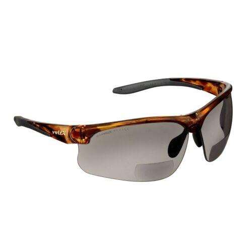 CE EN166FT UV400 lens voltX /'ULTIMATE/' Smoke Lens Bifocal Sports Safety Glasses