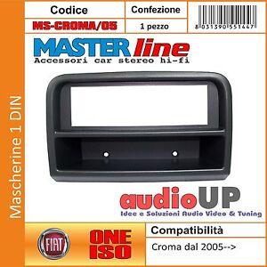 MASCHERINA adattatore Radio  iso Fiat CROMA dal 2005