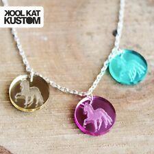 UNICORN DOTS Kette Halskette Einhorn Necklace Kawaii Candy Acryl Pastell Hipster