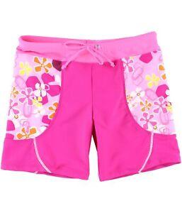 66b96ce77a Tuga Girls Floral Swim Bottom Boy Shorts pink L - Big Kids (8-20) | eBay
