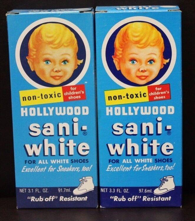 Vintage Bottle Hollywood Sani-white