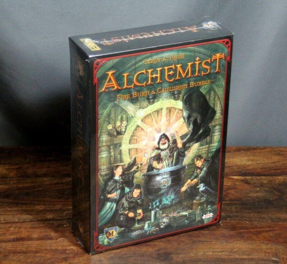 Neue - alchemist - feuer und feuer zischt von mayfair games - free shipping