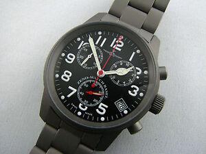 ZENO-Pilot-Classic-Chronograph-Titan-mit-Titanband-Quarz