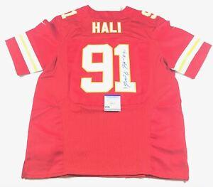 Details about Tamba Hali Signed Jersey PSA/DNA Kansas City Chiefs Autographed