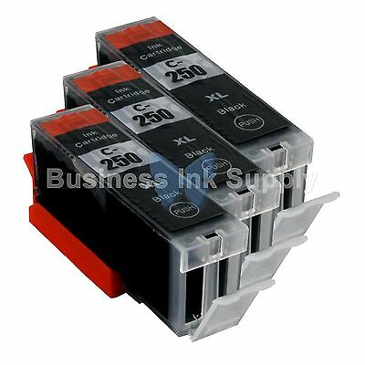 3 PGI-250XL Ink Tank for Canon Printer Pixma MX722 MX922 MG5420 PGI-250BK PGI250