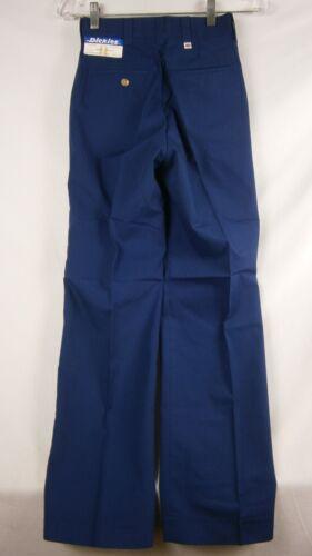 Dickies Men/'s Navy Blue Straight Leg Work Pants Size 25x30 Item #614C 16247D