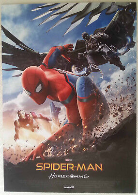 Locandina Originale Poster Spider Man Homecoming Film Marvel 2017 50x70 L'Ultima Moda