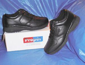 Propet-M3704-Mens-Lite-Walking-Shoe-Black-size-13-M-D-FREE-SHIP-USA