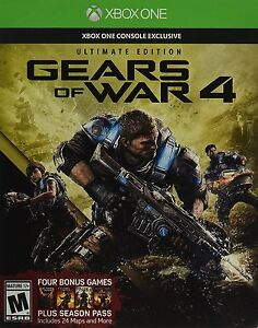 Gears of War 4 Ultimate Ed Inc SteelBook Season Pass Early Access Xbox One