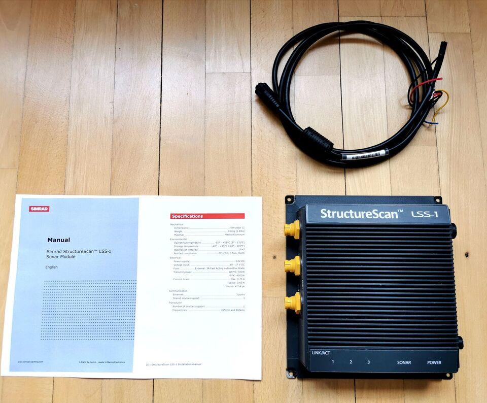 Like new SOUNDER MODULE STRUCTURE SCAN LSS-1 SI...