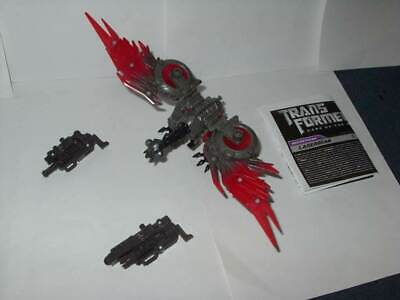 Transformers Laserbeak Dark of the Moon Mechtech MOC Free Ship w// Pro Packing