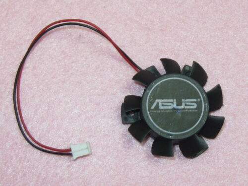 37mm ASUS HD 4550 5570 Video Card Fan Replacement 26mm 2Pin T124010DL 0.10A R132