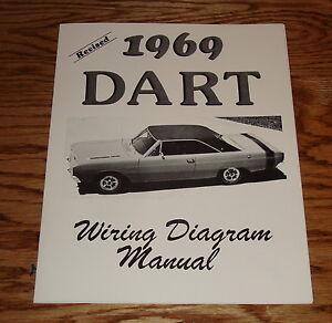 1969 dodge dart wiring diagram 1969 dodge dart revised wiring diagram manual 69   ebay 1968 dodge dart wiring diagram #3