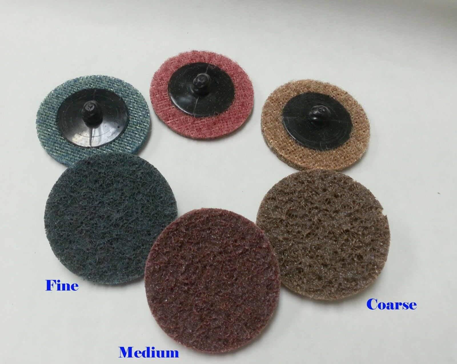 30 Mix 2 Quot Roloc Surface Conditioning Sanding Disc Fine