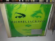 """MICHAEL JACKSON RARE CD """" INVINCIBLE """" GREEN COVER FUORI CATALOGO"""