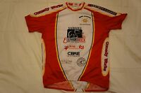 Subaru Elephant Rock Men's Red Medium Short Sleeve Half Zip Cycling Jersey M