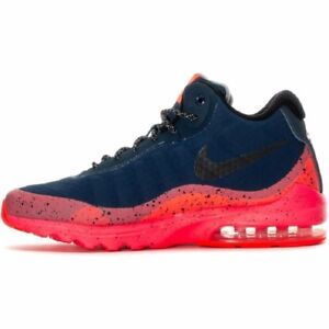 Details about NIKE AIR MAX INVIGOR MID Mens Solar Red 858654 401 NEW