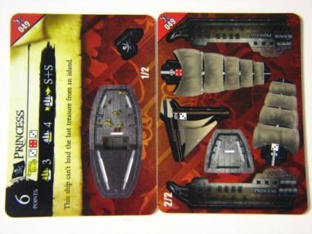 049 PRINCESS Pirates PocketModel Game