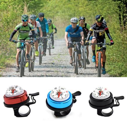 Fahrradklingel Mountainbike Mini Klingel Kompass Radfahren Horn Lenker Alarm  wg