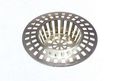 Lots Of 1 x Basin Strainer Hair Trap Catch 32 - 41MM Brass EB