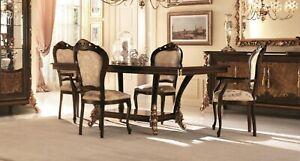 Detalles de Clásicos Diseñador Sillas Italiana Comedor Mueble Madera  Conjunto 6 Sillas