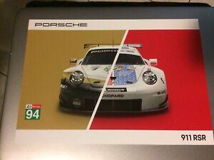 Carte-24-Heures-du-Mans-2019-Porsche-911-RSR-94