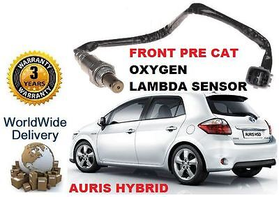 Touring SportS LEXUS RX UK O2 Oxygen Lambda Sensor Toyota AURIS 1.8 Hybrid