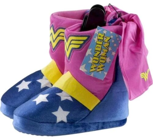 Wonder Women DC Comics Toddler Girl/'s Boot Slip-On Slipper//Shoe 5//6-9//10