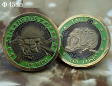 ARMY HEADS WE WIN TAILS YOU LOSE TARGET CHALLENGE COIN Challenge Coins Collectibles