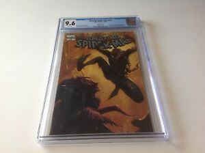 AMAZING-SPIDER-MAN-573-CGC-9-6-WHITE-PGS-ZOMBIE-VARIANT-EDITION-MARVEL-COMICS