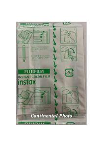 10 Prints Fuji Fujifilm Instax 200/210/300 Instant Color Print Wide Film 3/2020